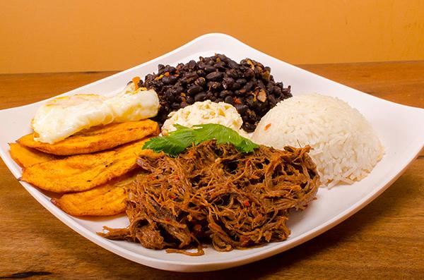 Platillos venezolanos con arroz