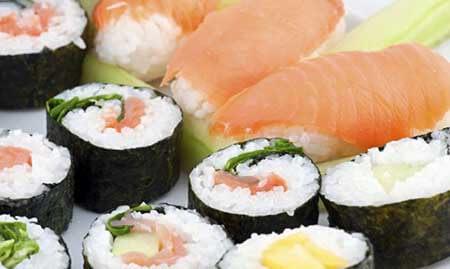 como se hace el sushi